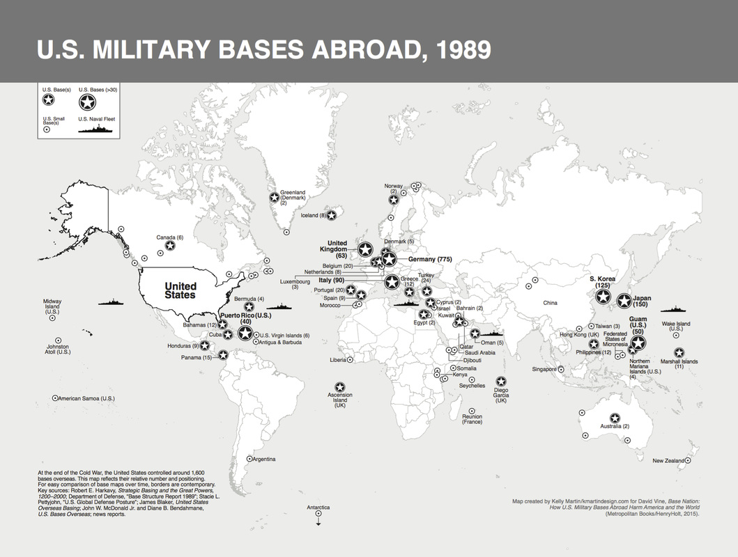 Marine Base In Japan Map.17 Maps Of U S Military Bases Abroad From Base Nation