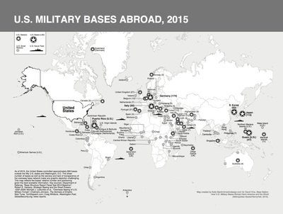 17 Maps of U.S. Military Bases Abroad from \